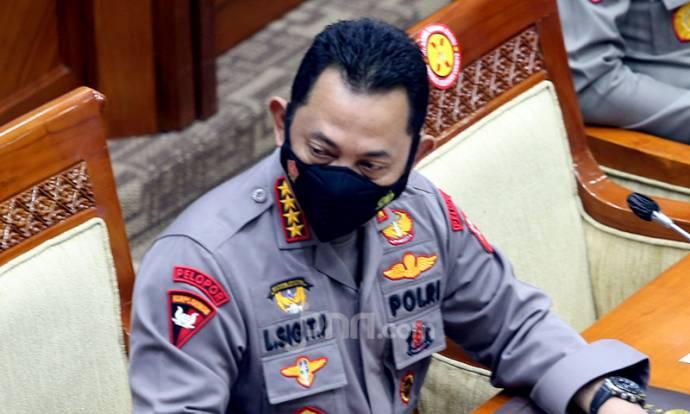 Kapolri Jenderal Listyo Sigit Prabowo di Komisi III DPR