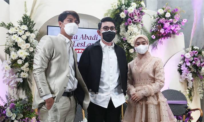 Konferensi Pers Persiapan Pernikahan Rizky Billar dan Lesti Kejora - JPNN.com