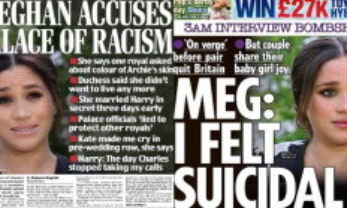 Inggris Terbelah Menanggapi Tuduhan Rasisme Meghan Markle kepada Kerajaan - JPNN.com